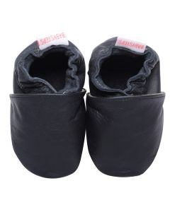 Babyshoes Plain Black