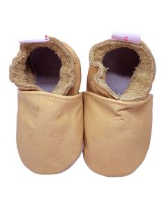 Babyshoes Plain Terracotta