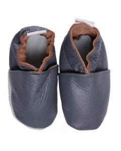 Babyshoes Plain Anthracite