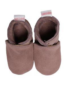 Babyshoes Plain Cognac