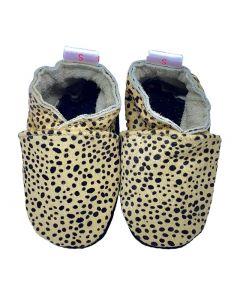 babyslofjes leopard print