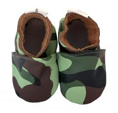baby shoes army print camo