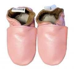 baby shoes pearl pink